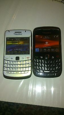 2 Dummy Mobile Cell Phone WHITE BLACKBERRY  Display Toy Fake Replica uk