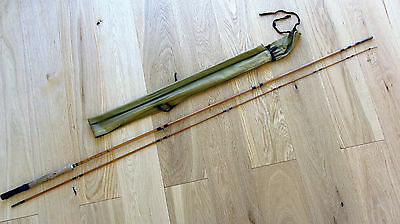 Constable of Bromley CC lightweight split cane 9ft 2pce #6 fly rod