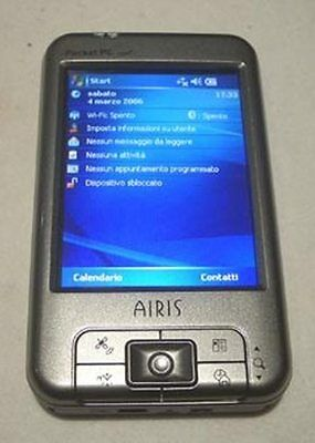 AIRIS POCKET t620 PC GPS WIFI BT PDA como nueva con TOMTOM con REGALOS