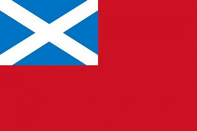 SCOTLAND RED ENSIGN 5' x 3' Scottish Scotland Royal Scots Merchant Navy Flag