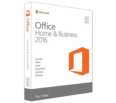 Microsoft Office Home & Business 2016 For One Mac *Selling Fast*