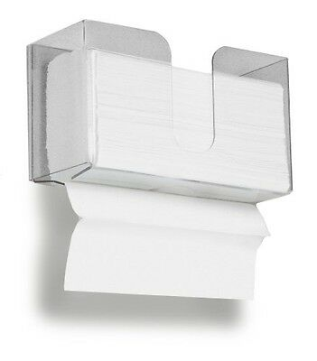 TrippNT 51937 Small Dual Dispensing Paper Towel holder with 150 9.2 x 9.4 inch