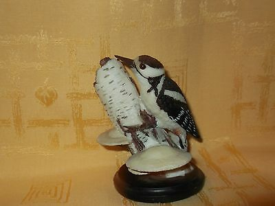 Great spotted woodpecker ornament