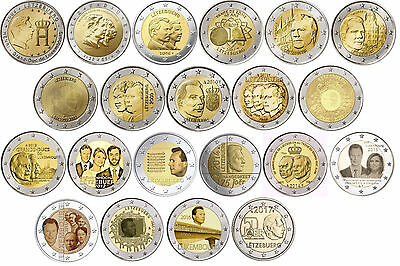 Special coins Luxembourg off 2004 all Years - free selectable - mint state