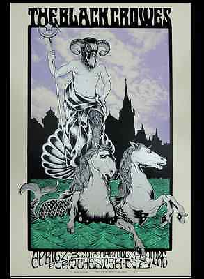Black Crowes - show poster Port Chester NY 2013