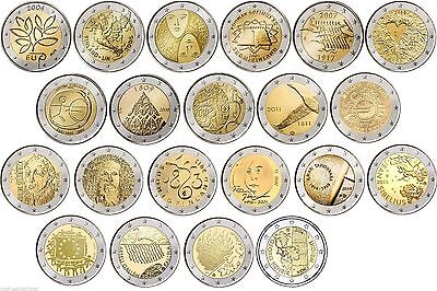 Special coins Finland ab 2004 all Years - free selectable - mint state