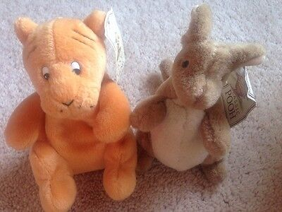Tigger And Roo Classic Pooh Gund With Tags
