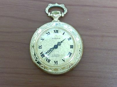 rolled gold fancy fob watch