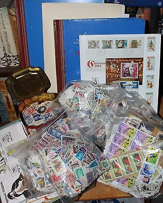 Massive Collection Of Australia & World Stamps In Albums, Tins, Bags & Boxes