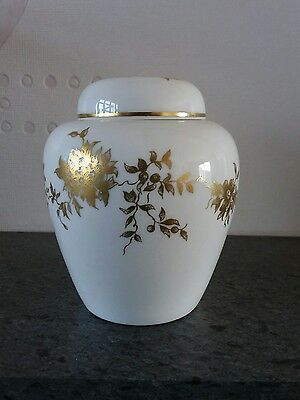 Crown Staffordshire China Aristocrat Lidded Ginger Jar