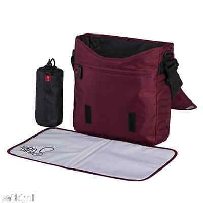 Bababing Day Tripper Lite Changing Bag Rustic Red + Accessories Unisex Messenger