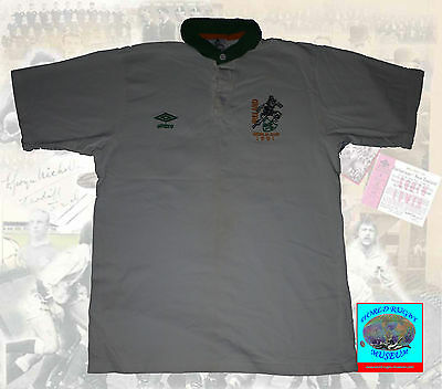 IRELAND 1991 RUGBY WORLD CUP UMBRO REPLICA STYLE RUGBY JERSEY 52cm A2A