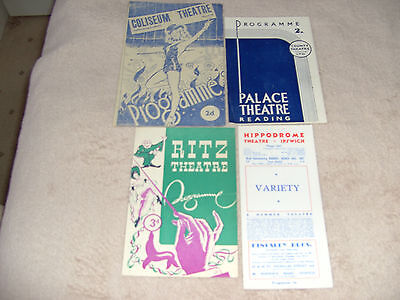 Four More Variety & Revue Programmes