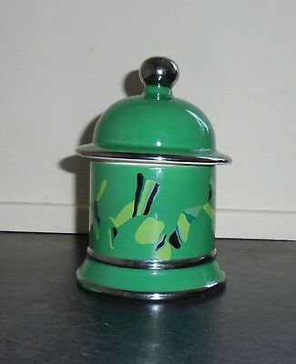 """Vintage """"Lustre"""" Abstract Lidded Sugar By Carlton Ware c.1978"""