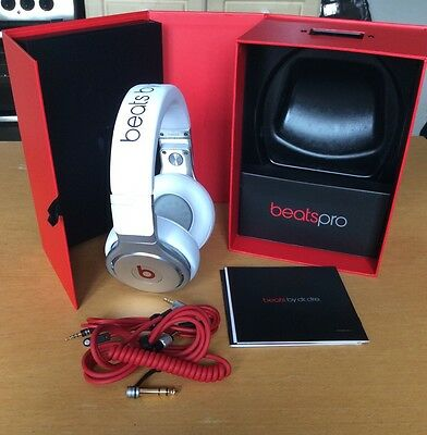 Beats by Dr. Dre Pro Over-Ear Headphones - White                Genuine Product
