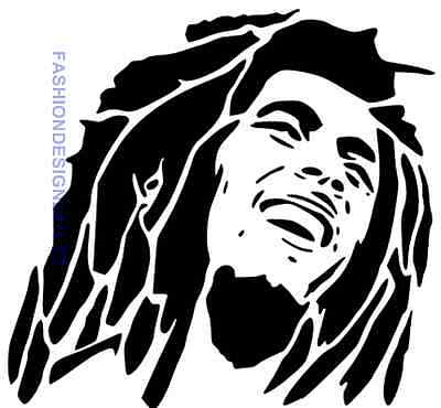 Bob Marley Mylar Stencil Art Craft Home Decore Painting Diy Wall Art Airbrush A4