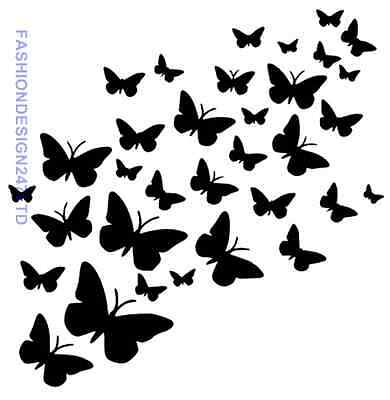 Butterfly Animals Mylar Stencil Home Decore Painting Diy Wall Art Airbrush A4