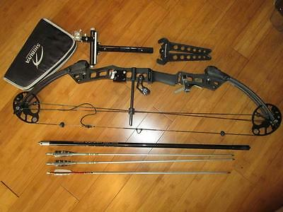 RH Mission Rally by Mathews Compound Bow Complete with Arrows & SIGHT