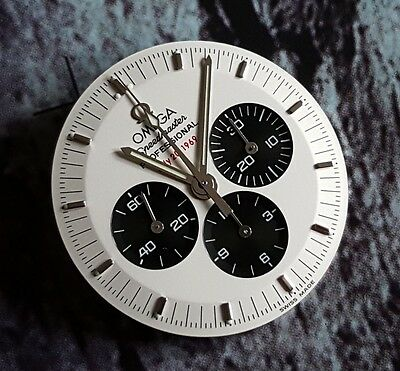 NEW 3569.31 OMEGA SPEEDMASTER APOLLO XI 11 PANDA DIAL LIMITED EDITION c/w HANDS