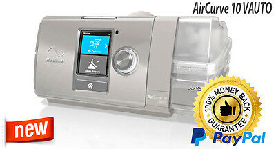 ResMed AirCurve 10 VAUTO bilevel breathing machine