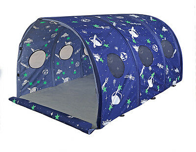 Pacific Play Tents Glow in The Dark Space 4.6' Tunnel