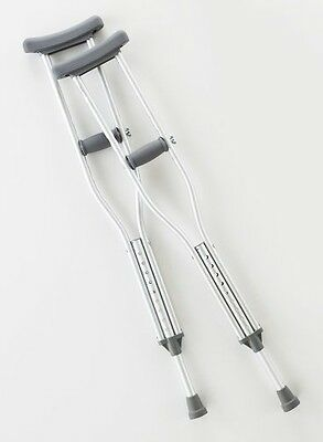 Cardinal Health CA901YTH Axillary Crutch, Youth, Height 52 in.-62 in.,