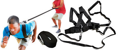 OSG Agility Training Exercises Power Speed Shoulder Resistance Harness 10ft Long