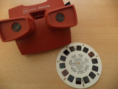 OLD VINTAGE SAWYERS  CLASSIC TOY OPTICAL 3D viewmaster viewer & free reel