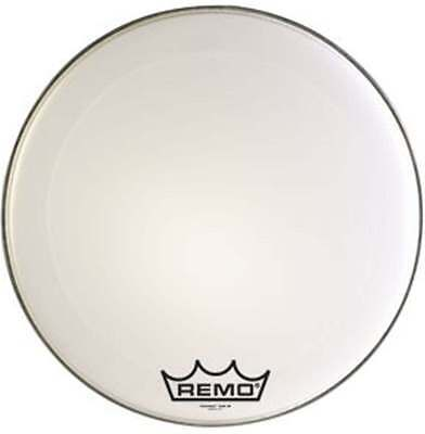 Remo Powermax Marching Bass Drum Head Ultra White 30 Inches
