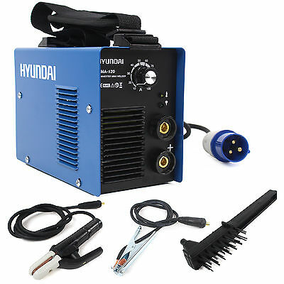 120Amp Inverter Welder Hyundai MMA / ARC Welder