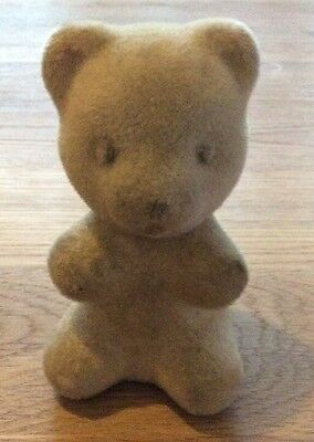 Vintage Collectable Avon Bottle Of a Small Teddy Bear