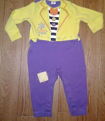 Boys All In One Sleepsuit Age 12/18 Months