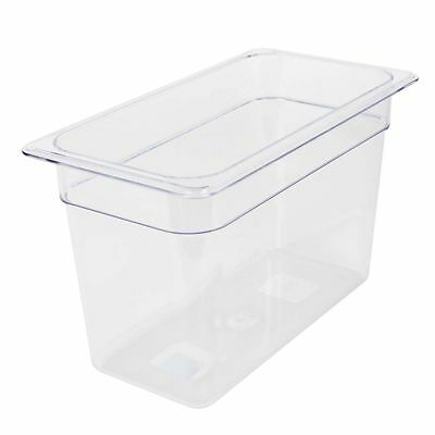 GN 1/3, 200mm Deep, 7Ltr, Gastronorm Container, Polycarbonate, Clear