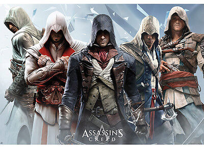 Assassin's Creed Group Poster 98x68cm. ABYSTYLE