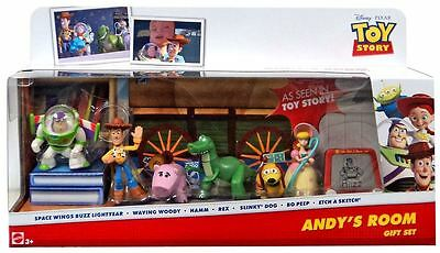 Andy's Room Gift Set - Toy Story - Contains Seven Mini Figures - Disney Pixar