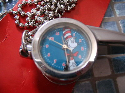 Dr Seuss Cat In The Hat Whistle Watch Very Rare Brand New