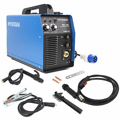 Hyundai 180Amp MIG / MMA / ARC Inverter Welder 230V Single Phase