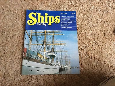 1986 Merchant Navy Royal Naval Magazine Article In Of Hms Leander Galatea  Etc