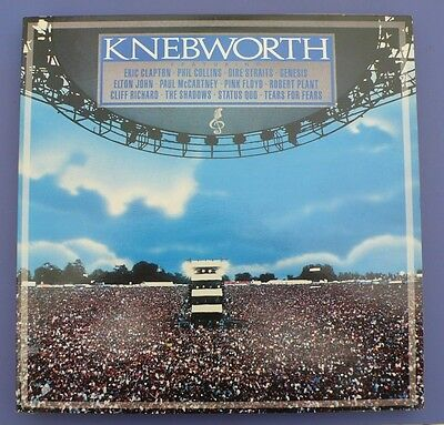 Knebworth The Album - Various Artists - CBS 1990 - double vinyl LP record