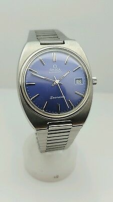 Vintage omega seamaster 1970s gents mens automatic watch