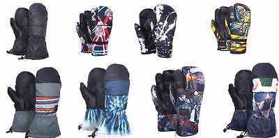Celtek Men's Snowboard Ski Mittens  All Styles Sizes and Colors