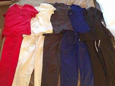 Figs Scrubs Lot - XS - 10 pieces, barely used