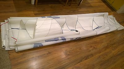 Excellent 32ft X 11ft6in NORTH SAILS MAIN SAIL, CRISP, YACHT BOAT RACE, MAINSAIL