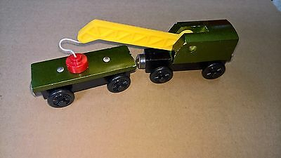 Thomas & Friends Freunde Magnetkran Breakdown Crane Holzeisenbahn Wooden Railway