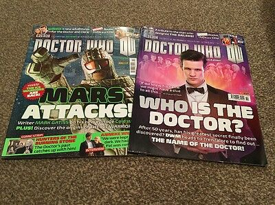 Doctor Who Magazine. Issues 459 & 460