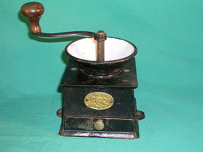 Antique Kenrick & Sons Patent Coffee Mill Grinder Number 2 Cast Iron