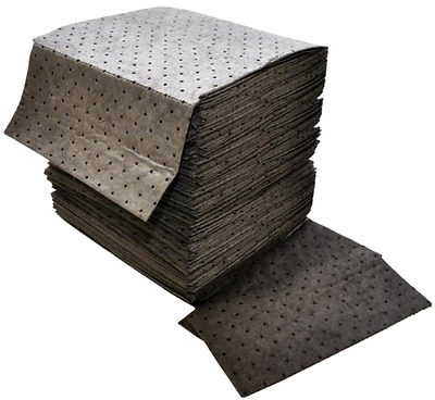 Absorbent Pad Double Weight Universal Sorbent MRO 18x16 Inches Case of 100 DB75