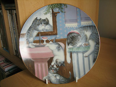 Hamilton Collection Cat Collectors Plate - Mischief Makers