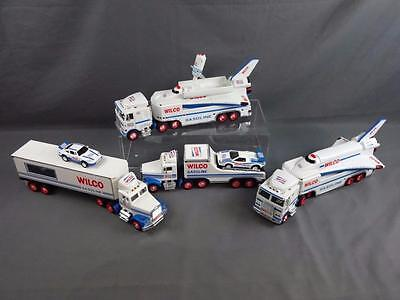 WILCO by Hess Toy Truck Lot 1992 1993 Car Transport & x2 2000 Space Shuttle