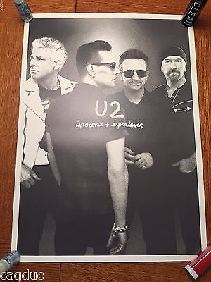 U2 LIMITED EDITION FAN CLUB Band innocence + experience LITHOGRAPH PRINT Poster